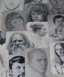 «Лица» метафорические карты